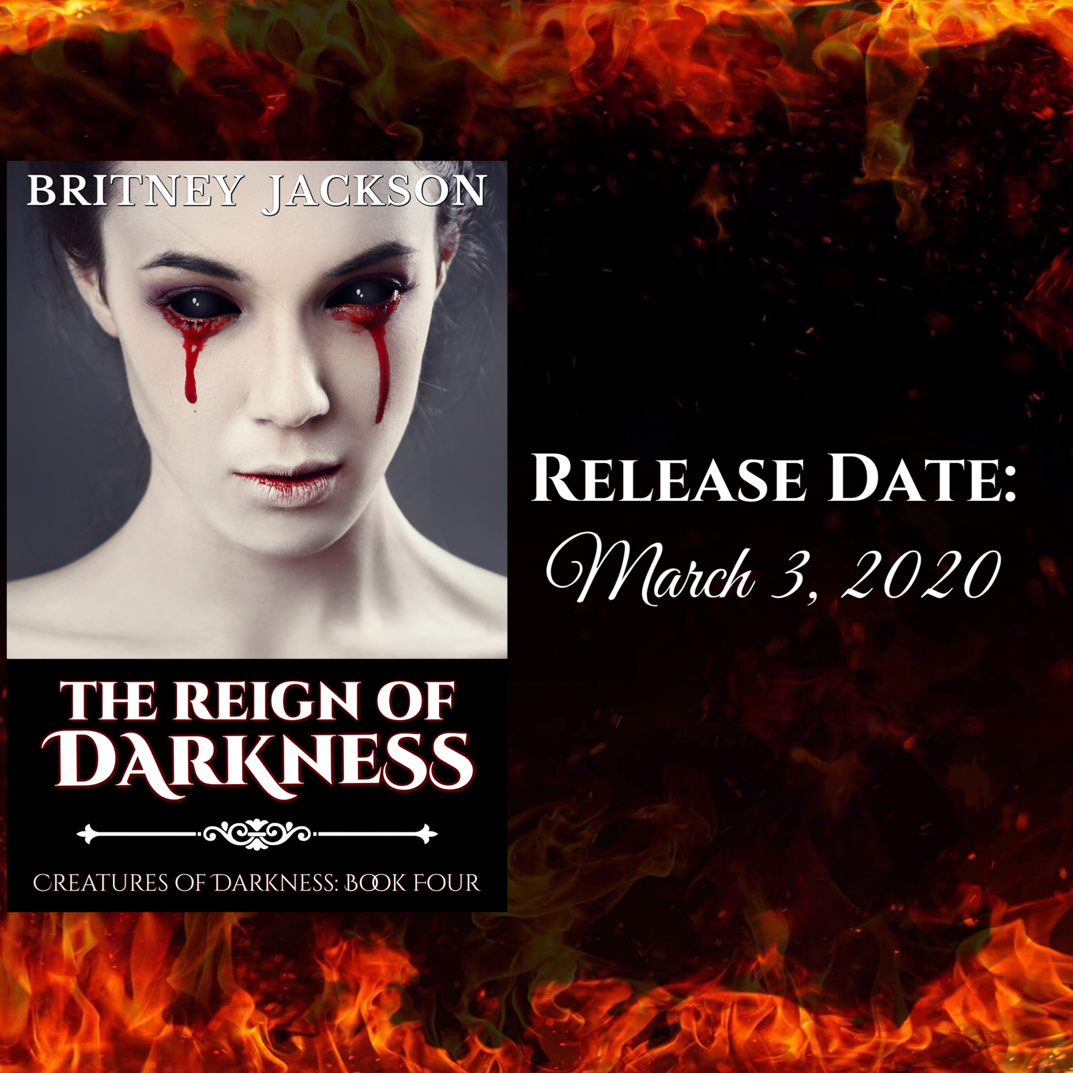 Release Date for THE REIGN OF DARKNESS